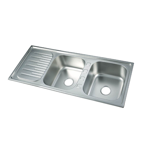 sink-double bowl single drainboard series DS12050C