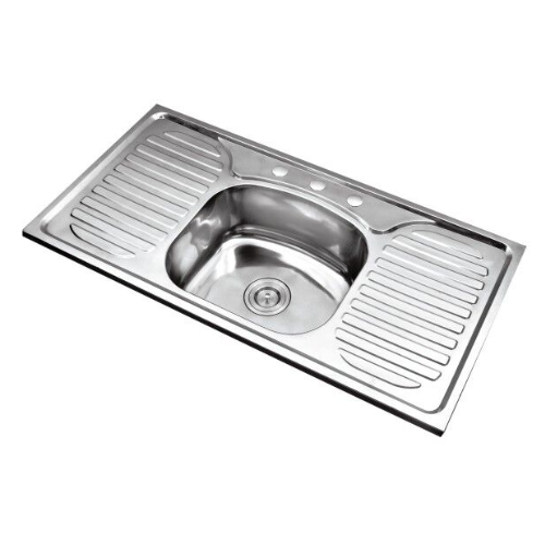sink-double drainboard series SD10050A