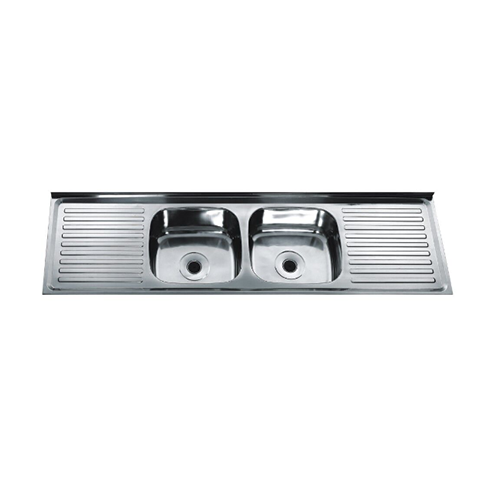 sink-double drainboard series DD18050