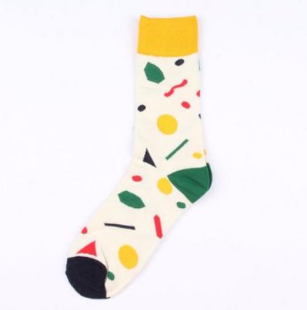 Fashion style sport custom logo socks QD016