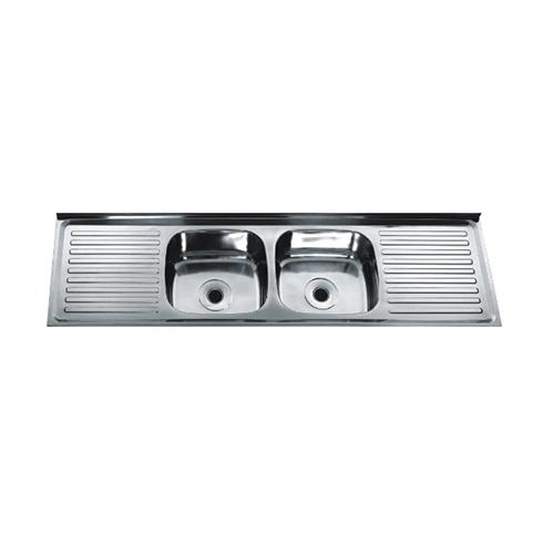 sink-double bowl single drainboard series  DS12050D