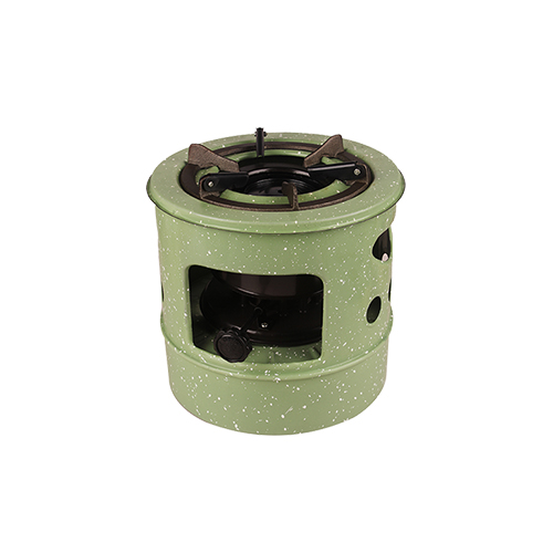 Enamel Plated FIRE WHEEL Brand High Quality anqitue Kerosene cooking Stove  HY-44