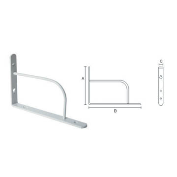 high quality and hot sale shelf bracket    412448
