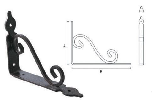 Shelf bracket 412410