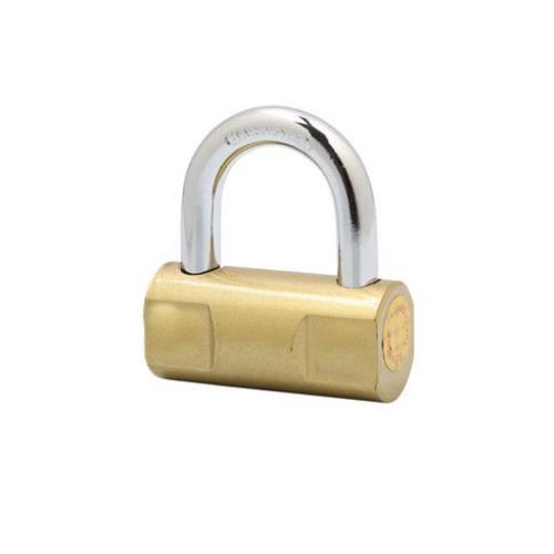 Hammer iron padlock (brass painted) HP