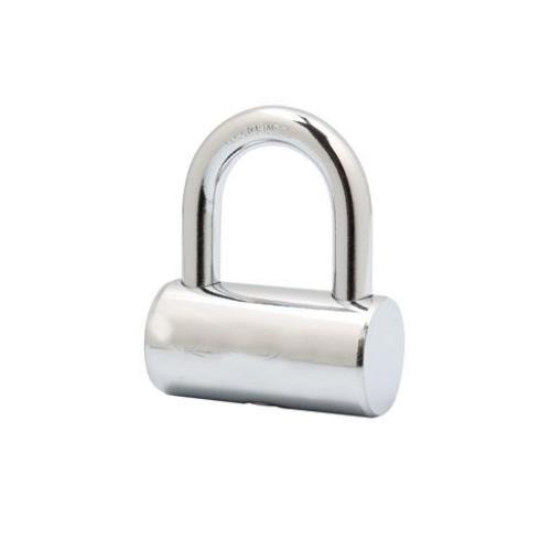 Double steel balls locking hammer iron vane padlock with 4 steel vane keys HVP