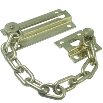 Technical Top Quality Cheap Wholesale Security Door Lock Zinc Plated Chain 168008