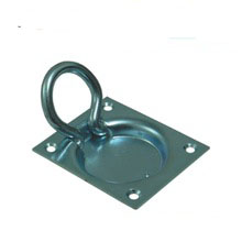 Steel flush ring pull 740034