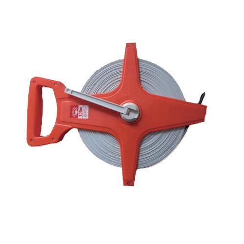 Hot Sale Cheap red  Fiberglass Tape Measure Industrial Fibre Glass Tape Measure L-012