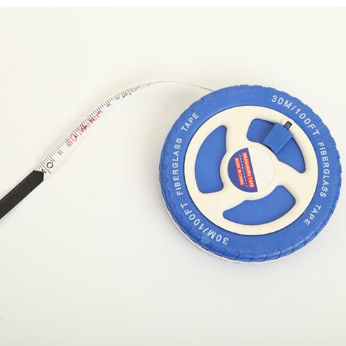 Hot Sale Construction Fibre Glass Measuring Tool 10m 33ft Fibreglass Tape Measure  TC-012