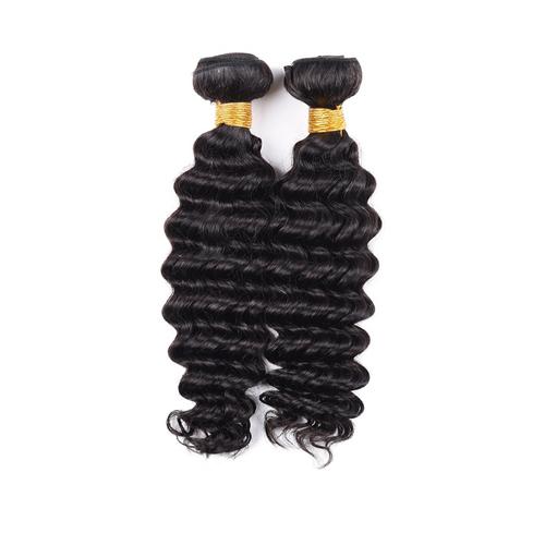 Full Bottom Fashion Deep Indian Human Hair Bundle, Unprocessed Grade 9A Virgin Hair   JFY-003