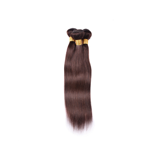 Wholesale Distributors Color 2# Straight Hair Indian Remy Human Hair Extension  JFY-007