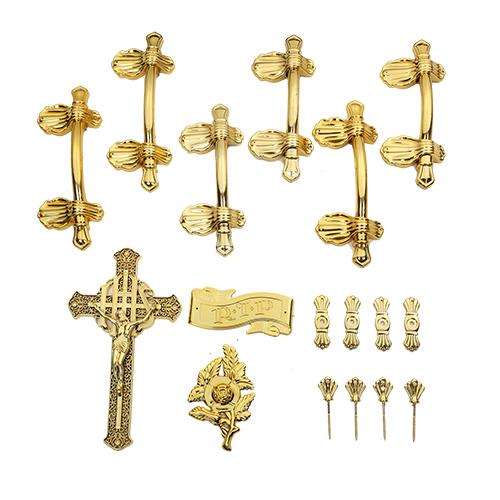 Coffin accessories handle fitting suit decorative casket handles HS9004