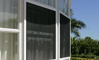 Top Class Home Waterproof Rainproof Window Screen AYW-012
