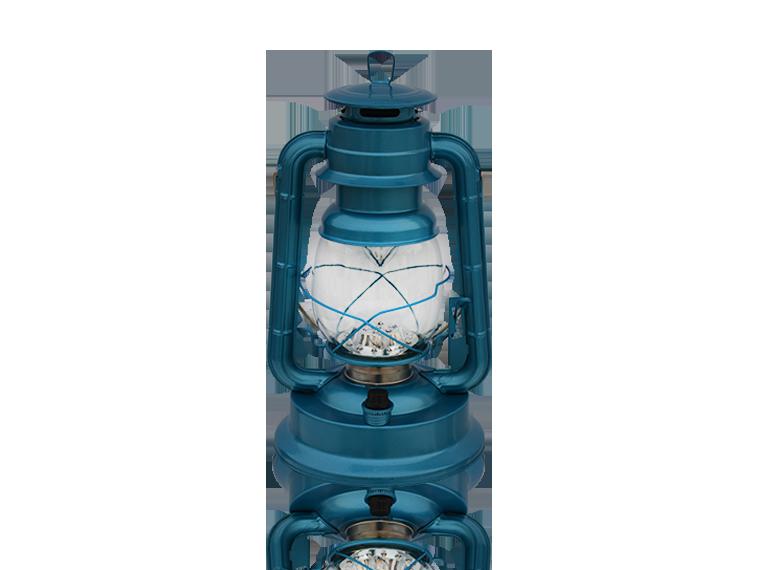 90 LIGHT BLUE LED LANTERN CHANGEABLE BRIGHTNESS