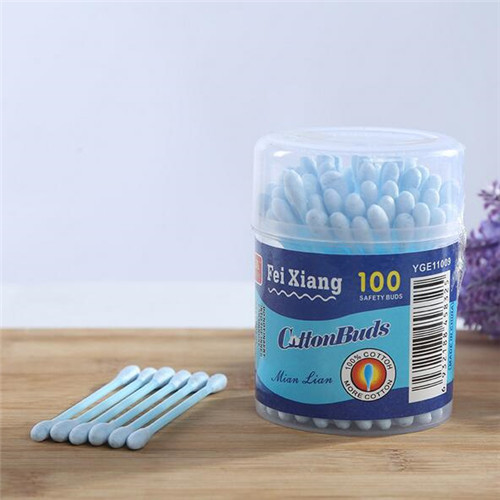 High Quality Customized Cotton Bud Cotton Swab  WJF-002