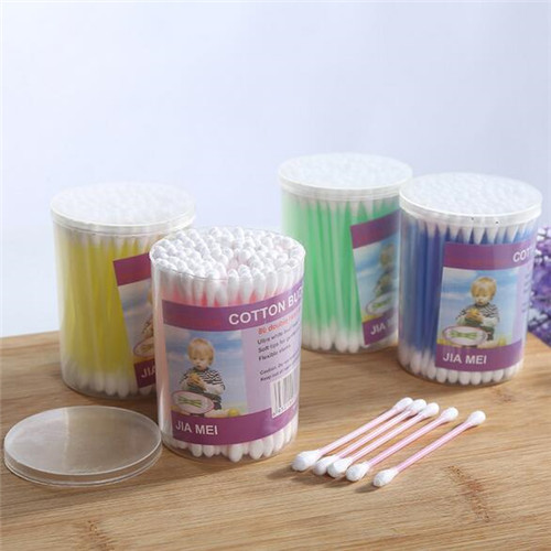 High Quality Customized Cotton Bud Cotton Swab  WJF-002