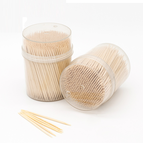 High Quality China 65mm Birch Disposable Wooden Toothpicks WJF-003