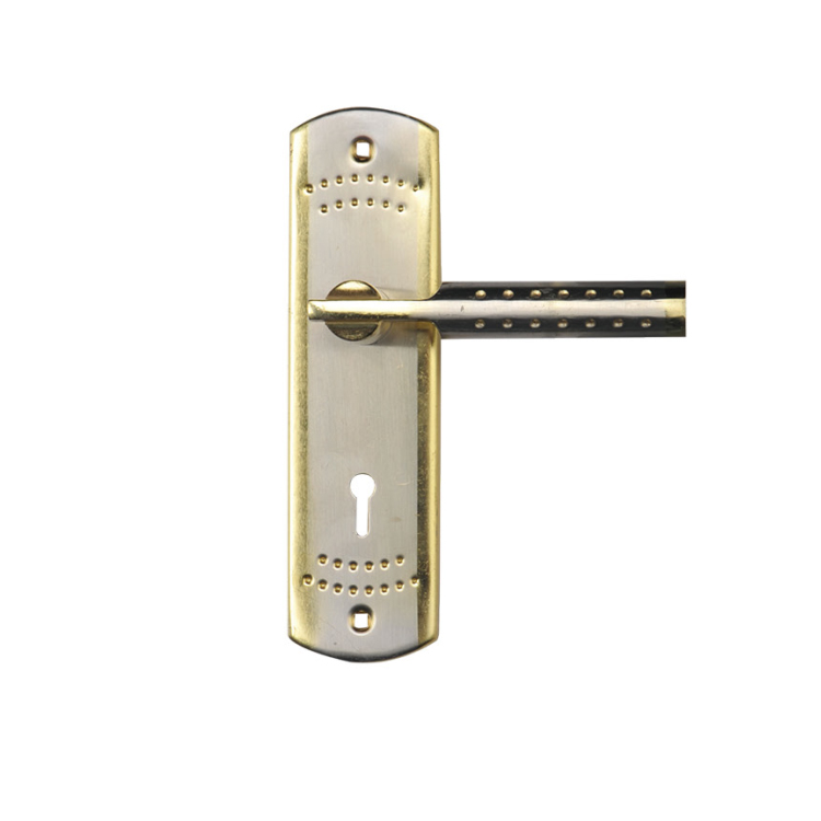 Foshan New Patent Hot Sale High Quality Wooden Plate Door Handle Lock for Africa