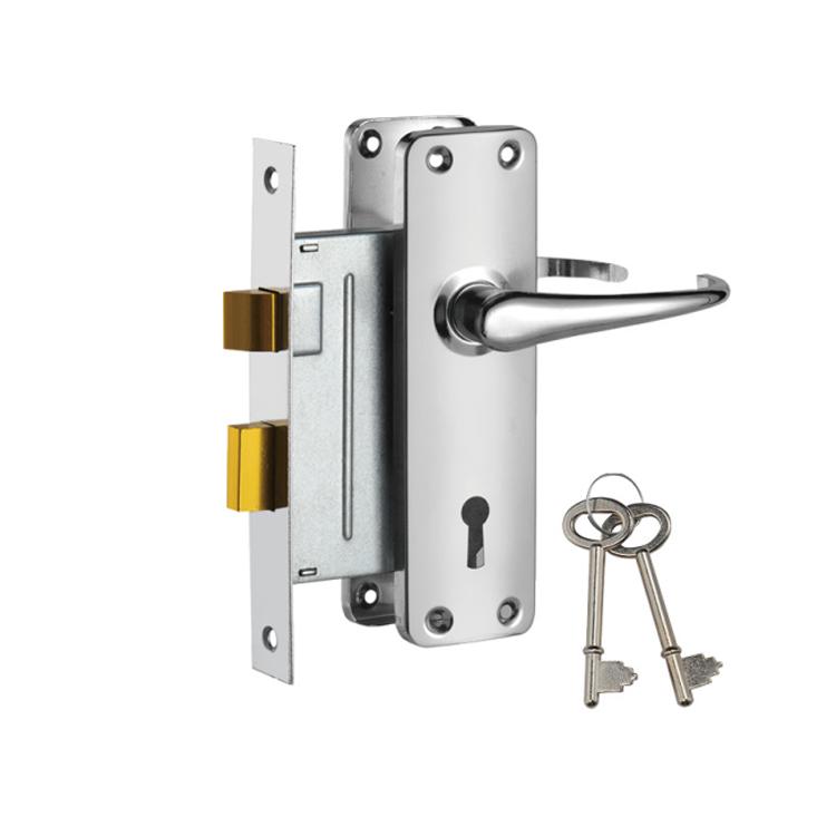 Fire Door Stainless Steel Mortise Lock Sash Cylinder Lock 697-3495-CP