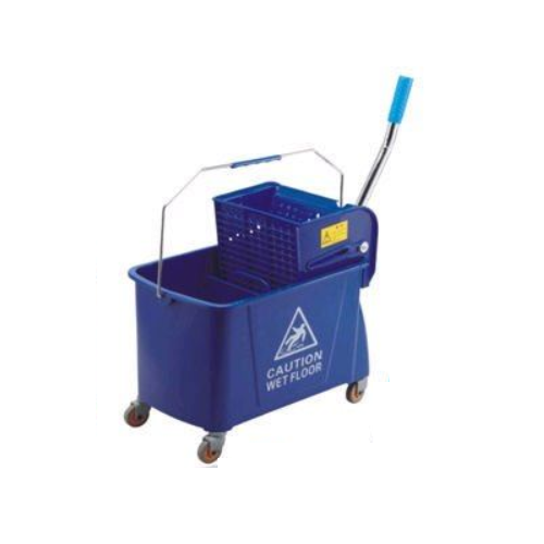 24 L cleaning trolley mop bucket with squeeze  0310200200001