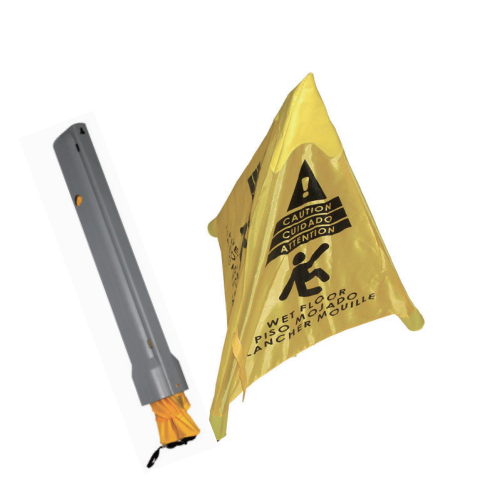 Triangle Wet Floor Sign Pop up caution sign 06301