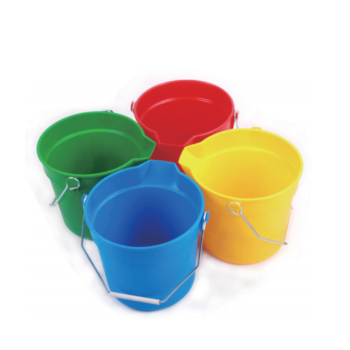 All-purpose bucket with spout Cleaning plastic bucket  09301