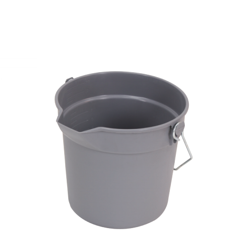 All-purpose bucket with spout Cleaning plastic bucket 14L  09302