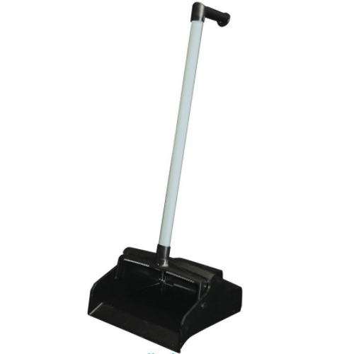 Black Plastic Lobby Dust Pan with