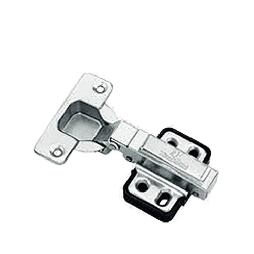 G208 Cabinet Concealed Hinge - Full Overlay Straight Bend High Quality Steel Hinge