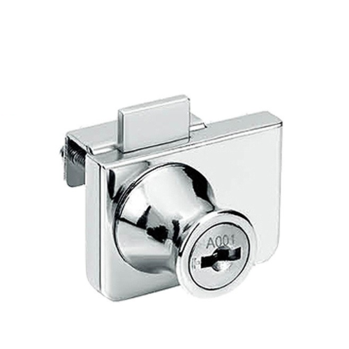 SK409 Three Level Management Zinc Alloy Double Opening Glass Lock