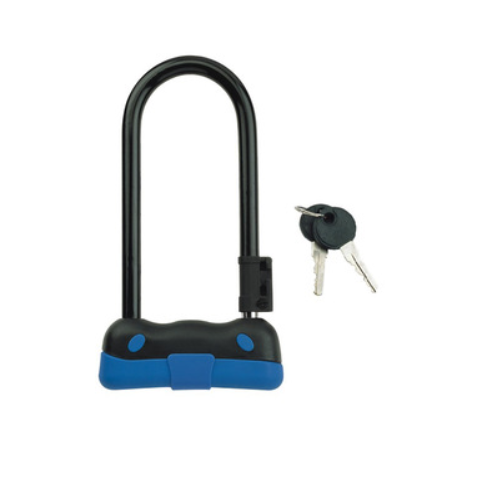 Bike Lock with 2 Keys Bicycle Cycling Accessories Motocycle U Lock 82104