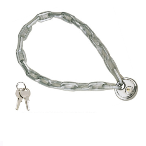 Anti-theft Bicycle Chain Lock Motorcycle Square/Round Chain With Diskus Lock 85107