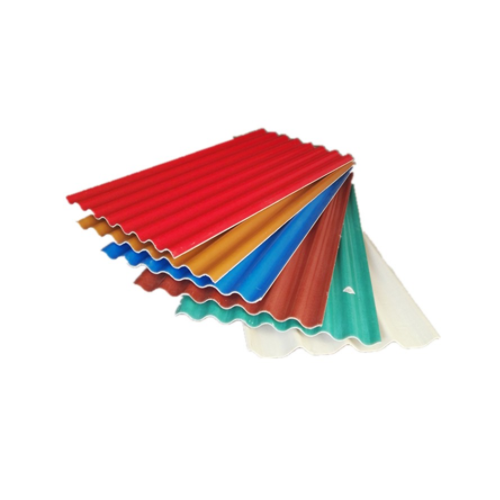 construction materials China supplier color coated corrugated sound proof mgo roofing sheets SH-04