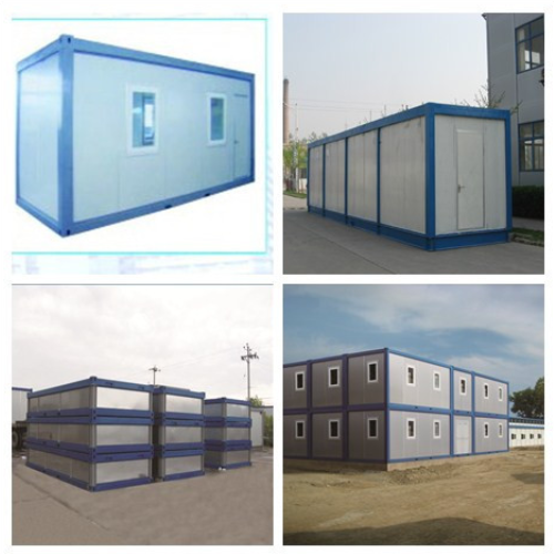 moving low cost flat-pack toilets and guard room  SH-23