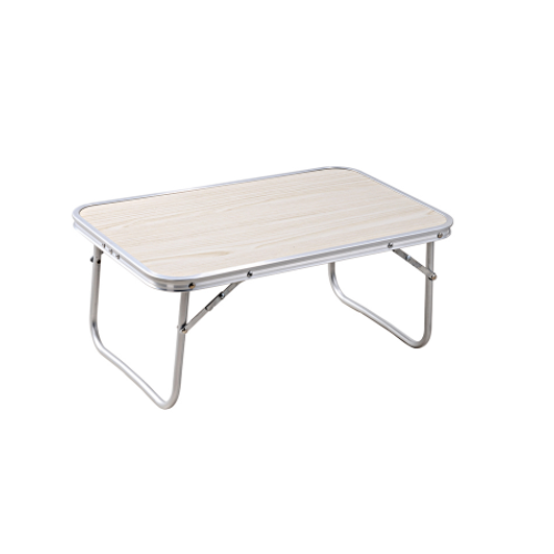 Alu brushed stainless steel folding table   DN-M-01A