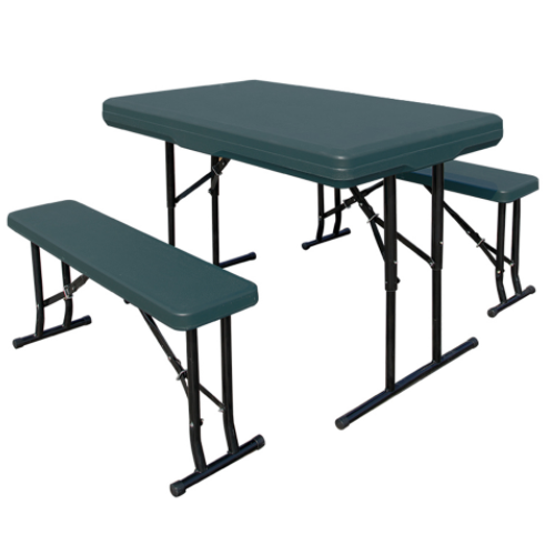 Picnic Plastic Tables and Chairs Outdoor Foldable Table Chair Set   DN-004