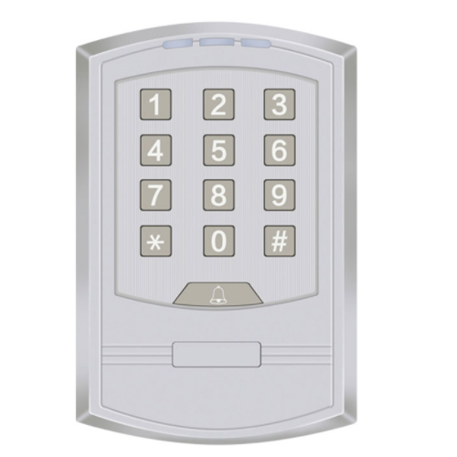 CU-SK90 Silver Surface Standalone RFID Proximity Card Reader for Security Door Systems