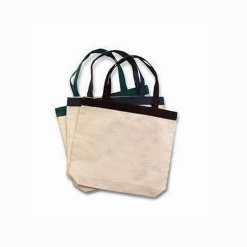 Wholesale Factory Price Cotton Bag Custom Logo Printed Canvas Tote Shopping Bag FS017