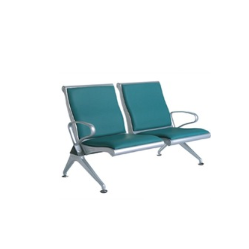 GT-BS060-01 Cheap price Public Waiting Chair 2-seater waiting chair leather chair