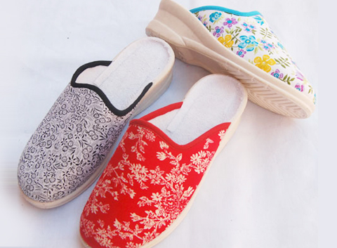 high quality competitive price cotton slippers