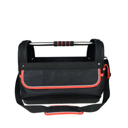 High Quality Steel Handle Open Tote Tool Bag Jg-Ggb5108