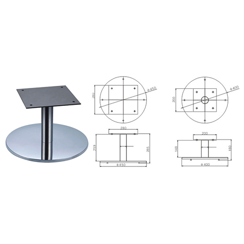 Swivel Lounge Chair Base &Stool Base CB-B04