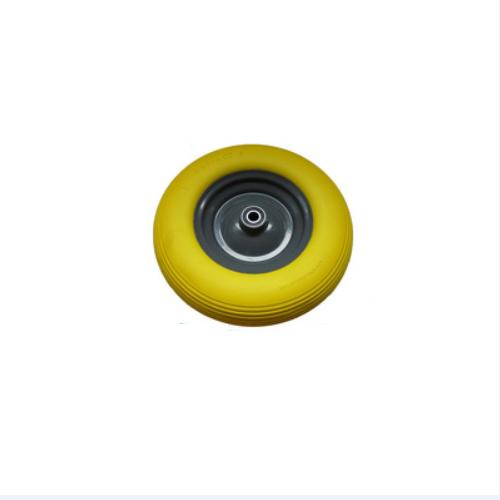 Flat Free Tire For Wheelbarrow 4.00-8 25mm axle bore Steel Core    K30