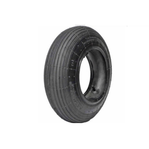 REPLACEMENT TIRE & TUBE RIBBED TREAD 16 IN. X 4.00-8    K35