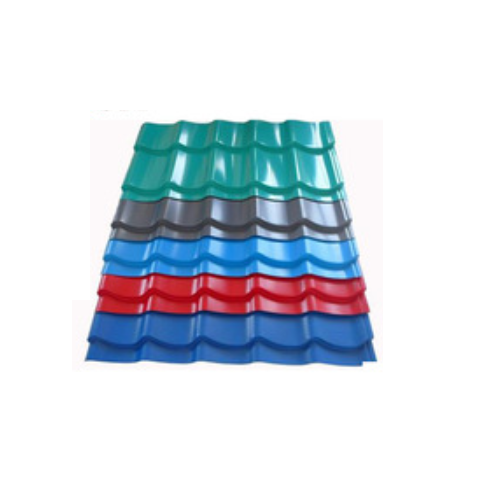 Steel roofing tile/corrugated sheet with good quality from China manfacturer  Y21