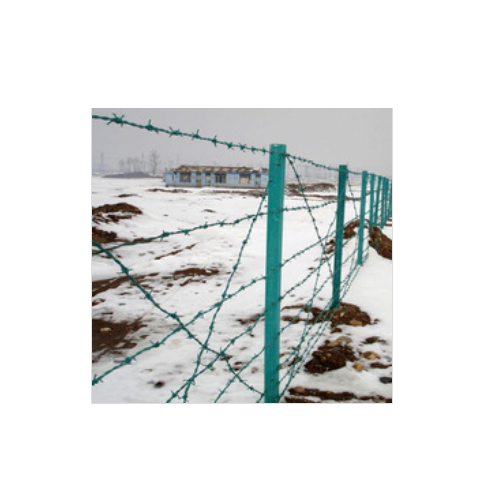 China supply cheap barbed wire/galvanized heavy duty price barbed wire    Q04
