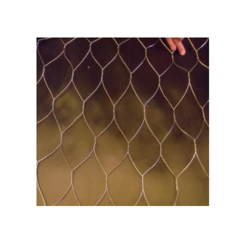 Nornal Twisted Galvanized Hexagonal Steel Netting For Children Playground   Q16