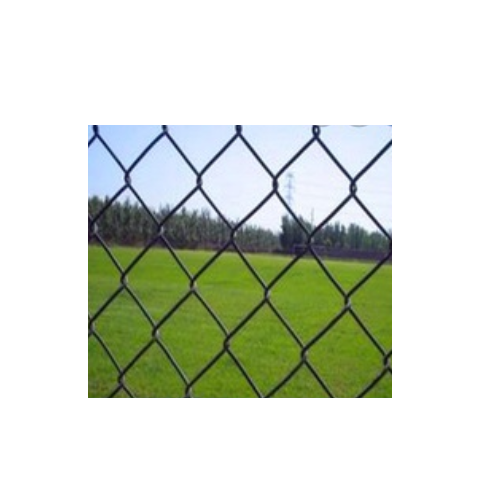 1mm Green Color PVC coated Chain Link Fence with factory price   Q21