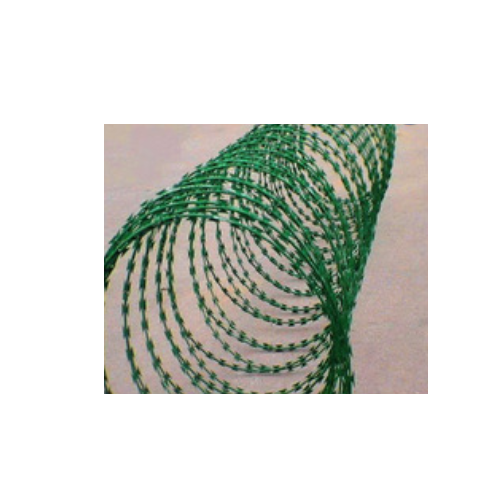 ISO galvanized concertina razor barbed wire, razor barbed wire factory   Q29
